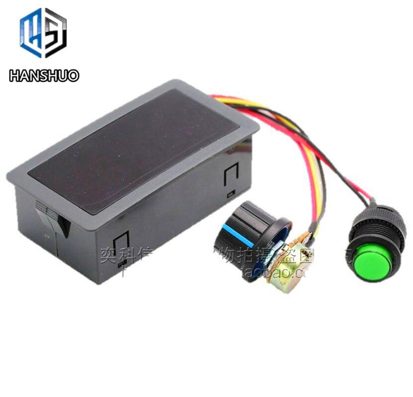 1 stücke 6V 12V 24V 5A PWM DC Motor Speed Controller CCM5D Digital Display LED Motor Controller geschwindigkeit Regler