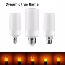 LED Flame Lamp E27 E26 B22 E14 E12 Bulb Flame Effect Fire Lamp Flashing Flashing 5W Decorative LED Lamp AC85-265V