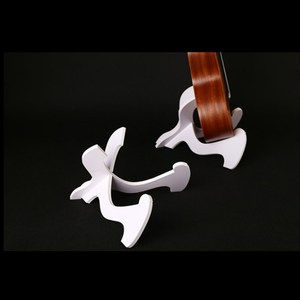 Аксессуары для гитары складные из твердой древесины Гавайские гитары укулеле бас ПВХ складной держатель Подставка для укулеле Скрипка мандолина, банджо популярный музыкальный инструмент