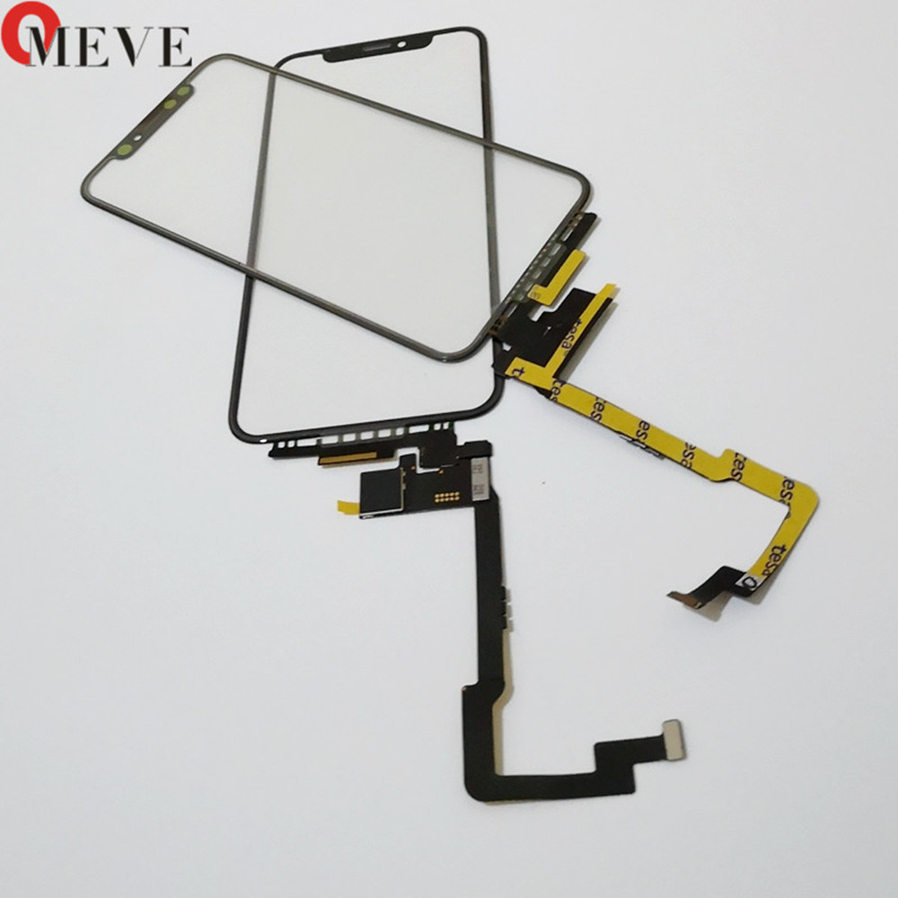 NEW OME Pre-tested For Apple IPhone X XS XS MAX No Welding Touch Screen Digitizer 5.8