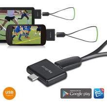 Tipo-c ISDB-T completa seg pt275c almofada sintonizador de tv assista hd tv no telefone android/almofada para japão brasil peru filipinas