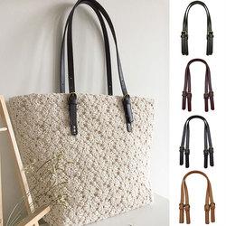 1 Pair PU Leather Bag Strap Women bag Strap 67-71CM Adjustable Bag Belt  Replacement Bag Handles Purse Strap Shoulder Strap Bag