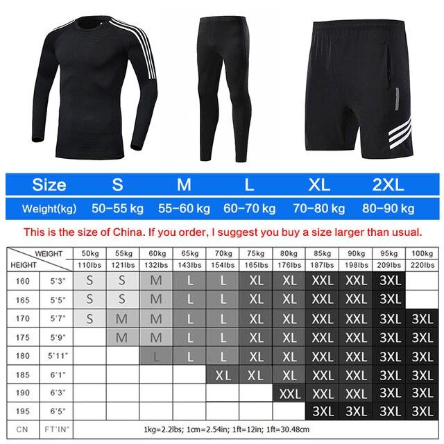 men's sports training suit  6
