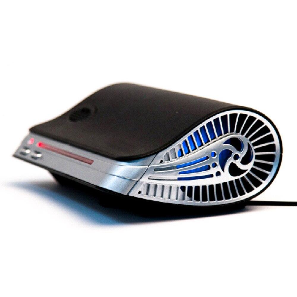 Car Air Purifier Auto Minus-Ion Air Purification Apparatus Portable Car Air Cleaner Ionic UV HEPA Ionizer Fresh Ozone