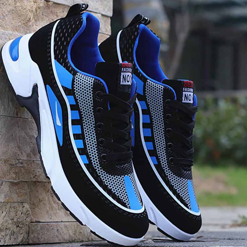 Men's Sports Sneakers Autumn Deodorant Breathable Casual Shoes Men's Footwear Running Shoes For Young Students