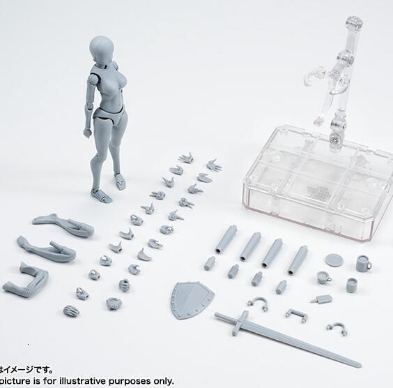 high quality Original body Kun Takarai rieto body Chan mange image painting DX Bhd PVC gray action collection model toy