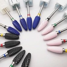 24Type Cutter For Manicure Ceramic Nail Drill Bits Nail Files Manicure Electric Nail