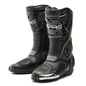 Image 2 - SPRS Motocross Boots Men Waterproof Motorcycle Boots Professional racing Moto Boots Motorbike Riding Boots Botas Moto