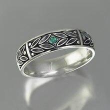 Винтажные этнические кольца ustar с вырезами в виде листьев