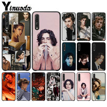 Yinuoda Timothee Chalamet Hitam Soft Shell Ponsel Cover untuk Huawei Mate10 Lite P20 Pro P10 Plus Honor 9 P30 Pro(China)