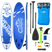 330 x 81 x 15cm Adult Inflatable Surfboard 2019 Stand Up Paddle Board Surfing Awater Sport Sup Board Surf Board