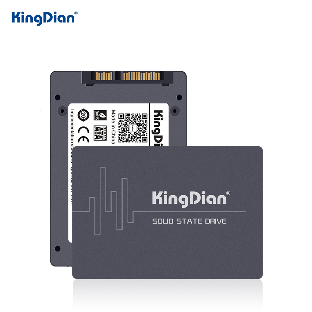 KingDian SSD HDD 2.5 SATA SSD 1TB 512GB 256GB 128GB 60gb HD SSD 120GB 240GB Internal Solid State Drives Hard Disk For Computer