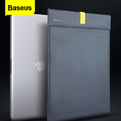 Baseus Laptop Bag For Macbook Air Pro 13 14 15 16  Inch PU Waterproof Laptop Sleeve Case For New Mac Book  Lenovo Notebook Cover