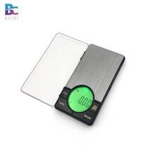 Báscula de bolsillo Digital de precisión para peso de joyas con gran retroiluminación LCD, 500G por 0,01G, escala Gram