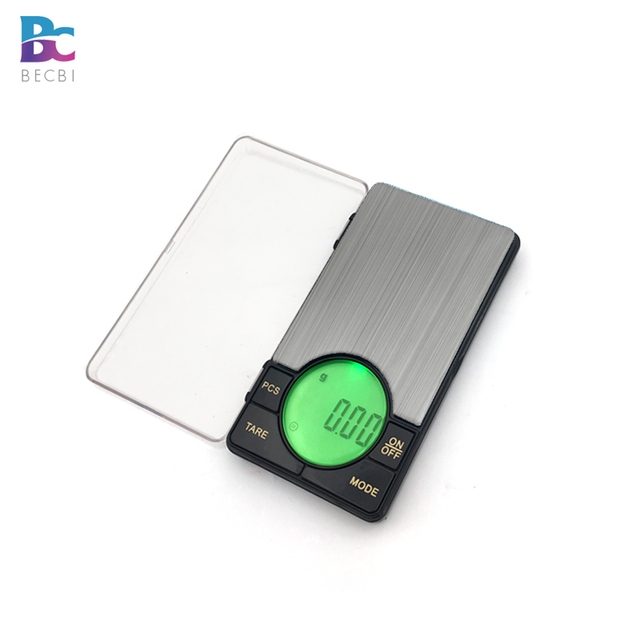 Precision Digital Pocket Weight Jewelry Scale with Large LCD Backlight,500G by 0.01G,Gram Scale