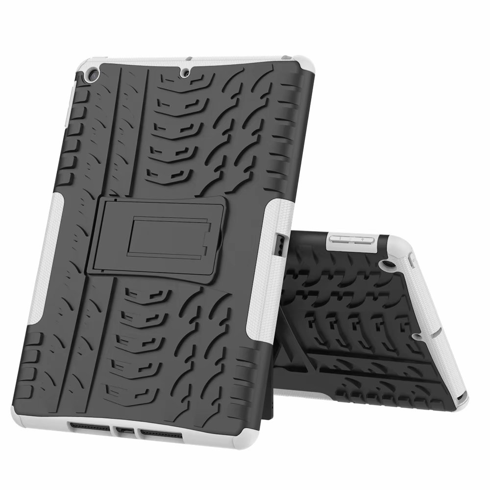 Hybrid-Armor Apple Defender for iPad Case-Cover Rugged Child Kids Heavy-Duty Shockproof