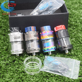 Vape Atomizer MAGE Kylin M RTA v2 RTA Base 24mm 3ml/4.5ml Tank Atomizer Top honeycomb airflow Large Build Deck Vaporizer Tank