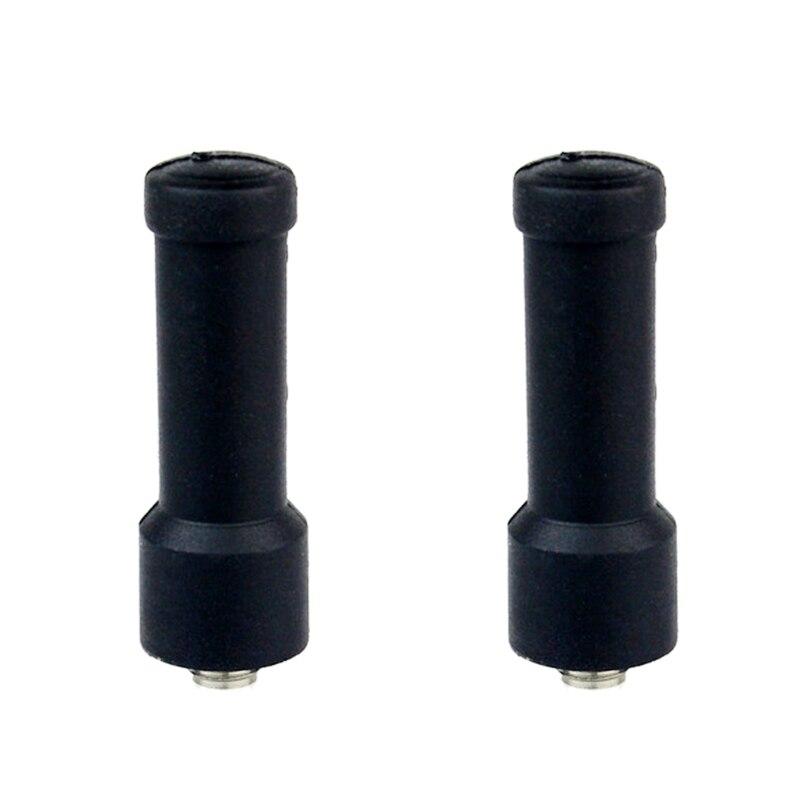 2 pcs Mini Short Antenna SMA-F UHF400-480MHz For Kenwood Walkie Talkie For Baofeng UV5R 888S Handheld Portable cb Radio J6166AF