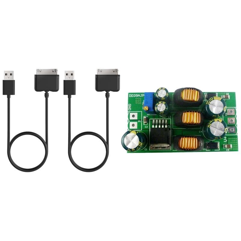 1 Pcs Positive & Negative Dual Output Power Converter Module & 2 Pcs USB Charging Cable