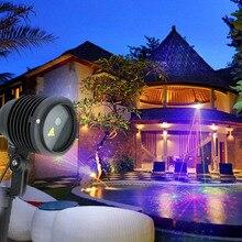RGB Laser Projector 24 Big Patterns Outdoor Laser Light Garden Waterproof Christmas Landscape Xmas Tree Show Lazer Lighting
