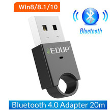 Wireless USB Bluetooth Adapter 4.0 Bluetooth Dongle Music Sound Receiver Adaptador Bluetooth Transmitter For Laptop PC Computer(China)