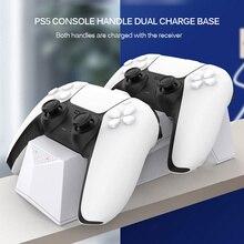 Support de Station de charge double pour chargeur de contrôleur PS5 avec Port de sortie pour accessoires de PlayStation 5 DualSense