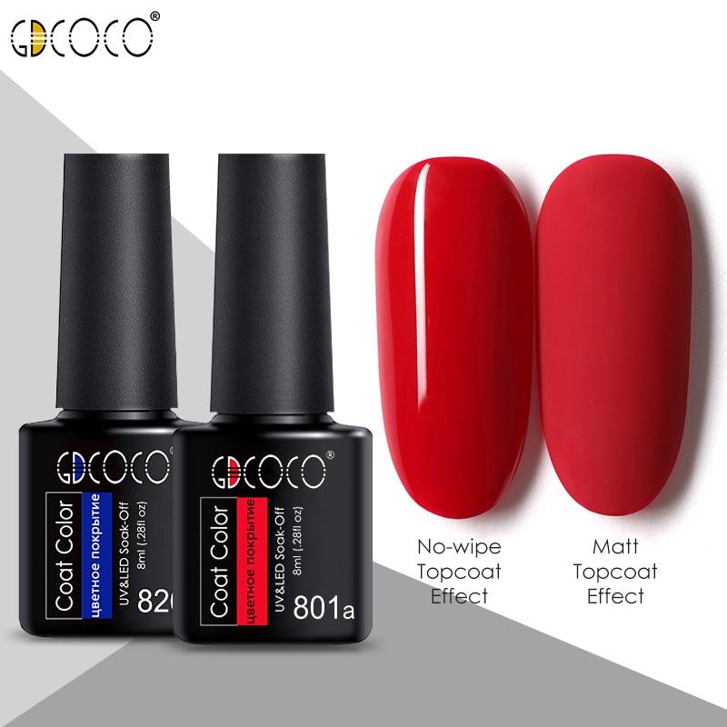 #86102 GDCOCO 2020 New Arrival Primer Gel Varnish Soak Off UV LED Gel Nail Polish Base Coat No Wipe Top Color Gel Polish