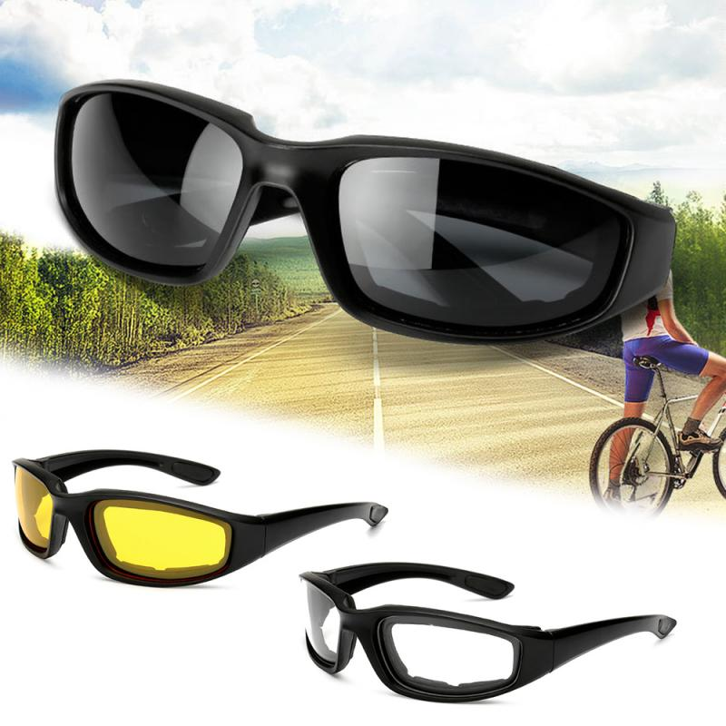 UV Protection Car Driving Glasses Sunglasses Windproof Eyewear Outdoor Riding Sun Glasses Night Vision Goggles