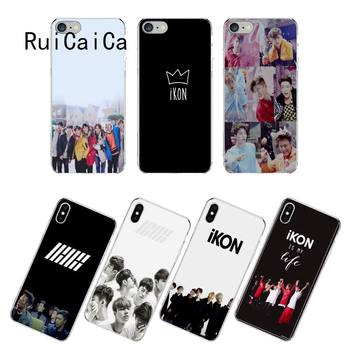 RuiCaiCa IKON Kpop is my life чехол для телефона fundas для iPhone 12 8 7 6 6S Plus X XS MAX 5 5S SE XR 12 11 pro promax coque image