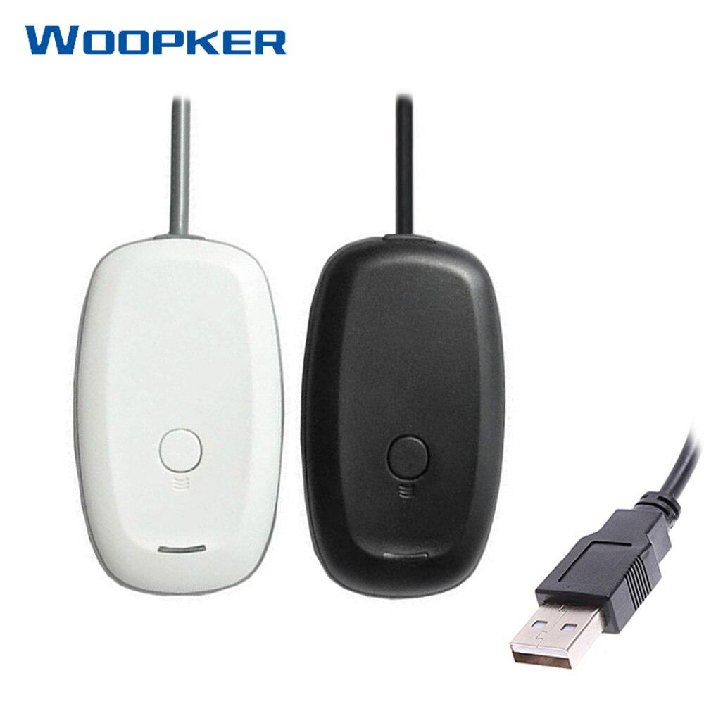 USB-приемник для Xbox 360, беспроводной контроллер, ПК-приемник, Поддержка компьютера, Windows, для консолей Xbox360