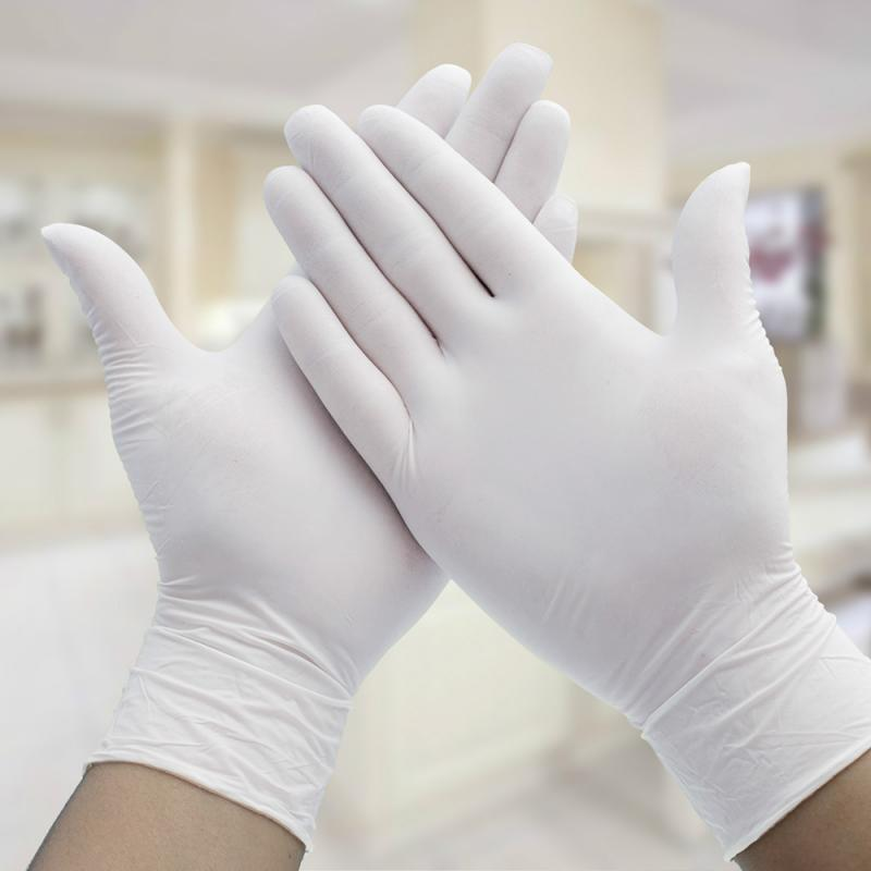 100pcs/lot Disposable Gloves Latex Dishwashing/Kitchen/Outdoor/Work/Rubber/Garden/Industry  Eco-friendly Universal Cleaner Glove