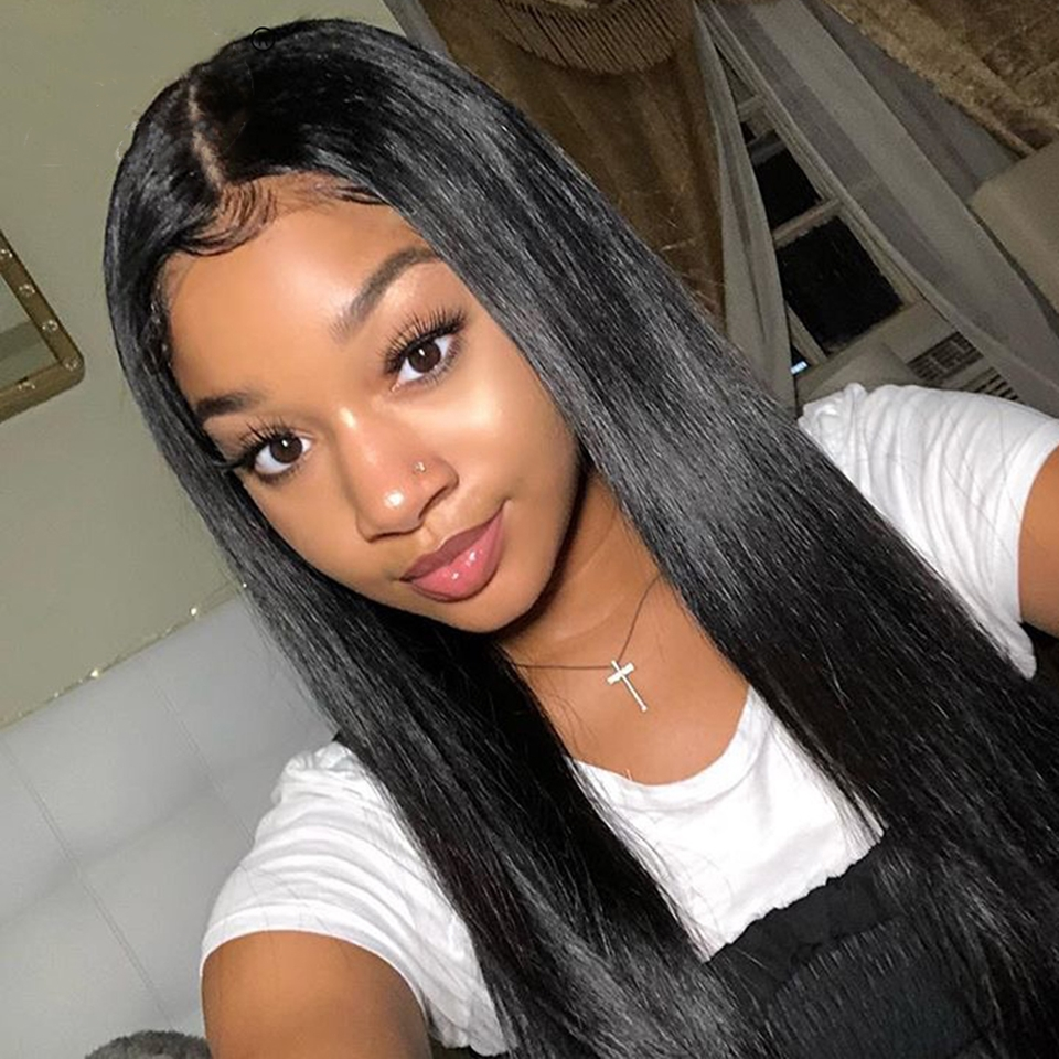 He5a404a2cf3b47a7812601070ac7c2e53 Karizma 4x4 Lace Closure Human Hair Wigs Remy Closure Lace Wigs Brazilian Hair Wigs Straight Lace Closure Wigs With Baby Hair