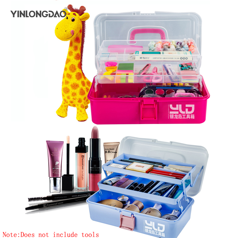 Multi-function Storage <font><b>Box</b></font> Desktop Drawer Storage <font><b>Box</b></font> <font><b>Art</b></font> Toolbox Children Portable Primary School <font><b>Tools</b></font> Household Storage <font><b>Box</b></font> image