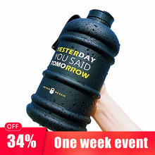 700ml / 2.2L Large Capacity Drink Water Bottle Sport Free Gym Training Kettle for Outdoor Picnic Bicycle Climbing Big Cup Jug