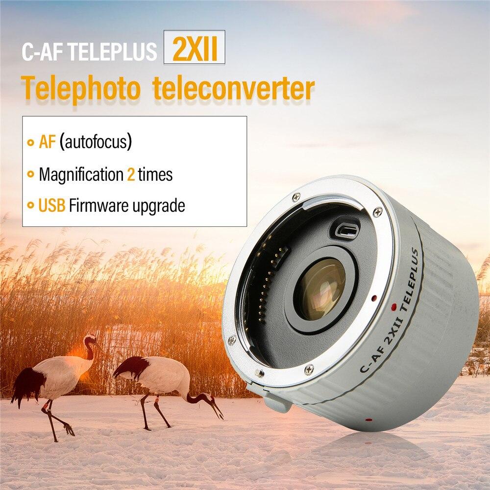 Viltrox C-AF 2x ii teleplus teleplus autofoco