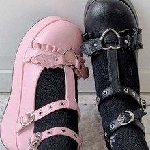 Cosplay Shoes Pumps Platform Wedges DORATASIA High-Heels Lolita Female Gothic Fashion
