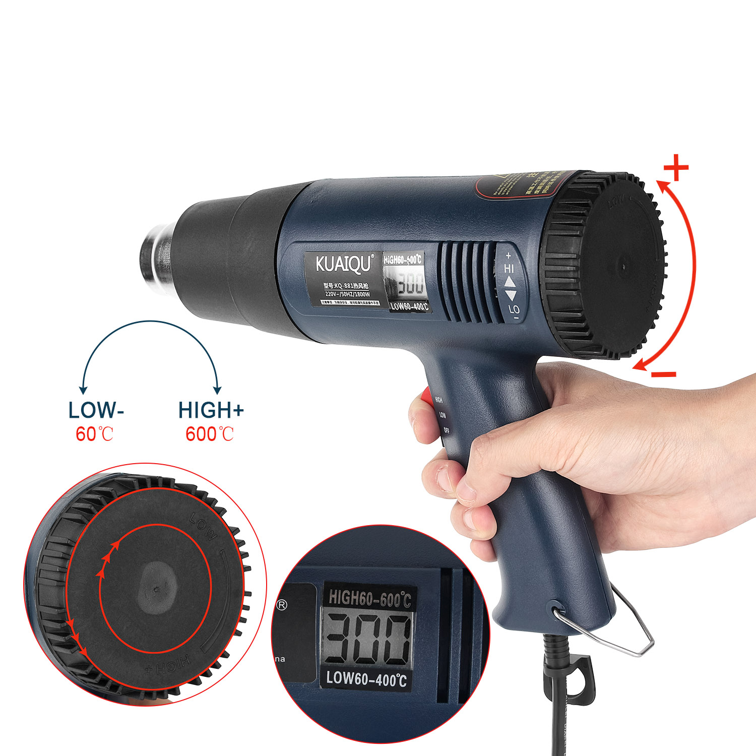 tool for taking hair dryer screws off