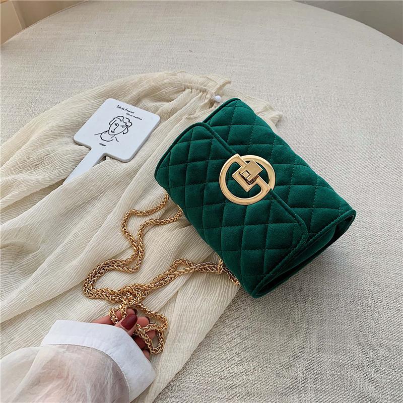 Vintage-Fashion-Female-Plaid-Square-Bag-2020-New-Quality-Velvet-Women-s-Designer-Handbag-Lock-Chain (1)