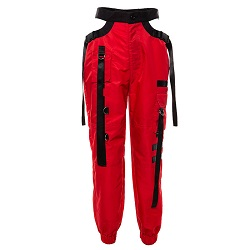 只买红色飘带工装裤_2