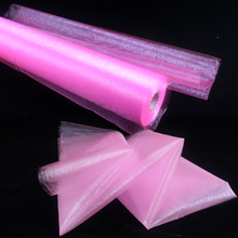 HAOCHU 10MX75CM Sheer Organza Tulle Roll For Wedding Decorations Photo Booth Decorations Christmas N