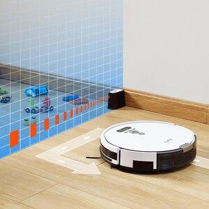 Image 4 - Ilife V8s/V8 Plus Robot Stofzuiger Nat Mop Navigatie Gepland Cleaning Grote Vuilnisbak Water Tank Schema Desinfectie