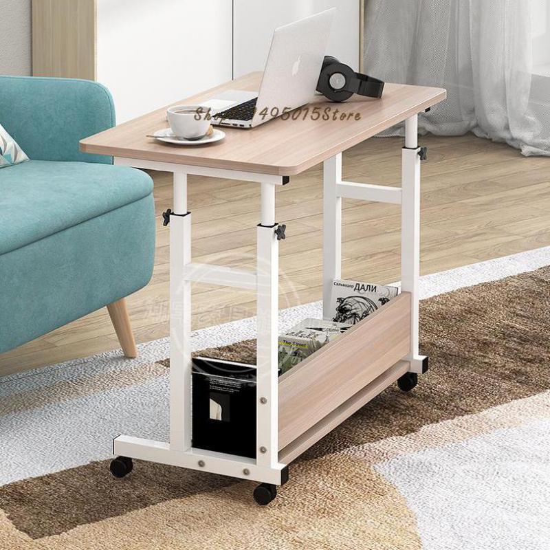 Стол компьютерный домашний, прикроватный столик для спальни, Простой прямоугольный письменный стол для аренды