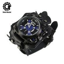 New luxury mechanical watch men's personality sports steampunk watch