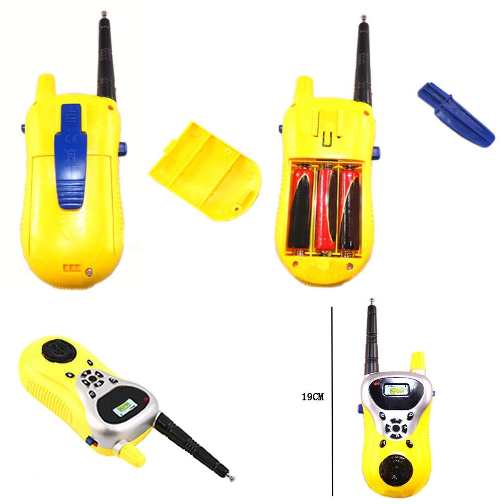 2 шт. электронная мини-игрушка для родителей и детей, развивающая игра, двусторонний коммуникатор, подарок, портативные Детские рации