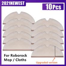 Mopp Tücher Wasser tank Filter für Roborock S6 S5 MAX S60 S5 S50 S55 E25 E35 Staubsauger Ersatzteile zubehör cheap CN (Herkunft) mop cloth for xiaomi roborock vacuum Teile des Staubsaugers Replacement mop cloth for vacuum cleaner