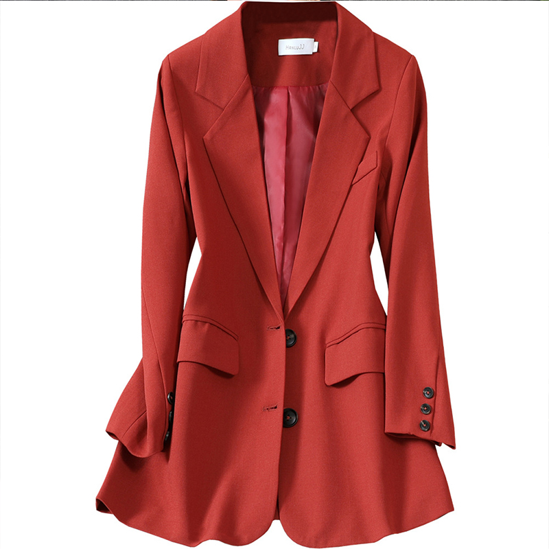 High quality large size M-5XL Female suit Temperament casual ladies jacket Professional Women's Blazer Autumn And Winter 2020