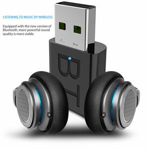 Receiver Headphones Transmitter HIFI Stereo Bluetooth Mini-Usb Home-Stereo AUX RCA