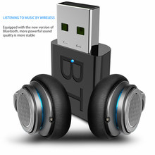 Mini usb bluetooth 5.0 transmissor receptor estéreo bluetooth rca usb 3.5mm aux para tv pc fones de ouvido casa estéreo do carro de alta fidelidade áudio(China)