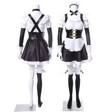 Animatie Derivaten Voor Fate/Grand Order Tamamo Geen Mae Anime Meid Cosplay Kostuum Universele Maid Outfit-Xl(China)