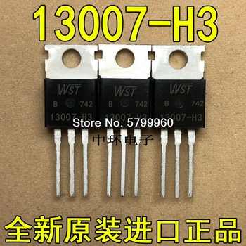 10 unids/lote FJP13007-H3 13007-H3 TO220 WST transistor